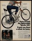 1970 SEARS SPYDER 500 Boy's Bike - Bicycle - Banana Seat - VINTAGE AD
