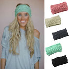 Fashion Crochet Headband Knit Hairband Flower Winter Women Ear Warmer Head Wrap
