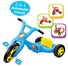 3-1 FOLDABLE DESIGN BIKE TRIKE TRICYCLE SCOOTER TODDLER KIDS 3 WHEEL RIDE ON TOY