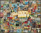 White Mountain Puzzles The Seventies - 1000 Piece Jigsaw Puzzle, New