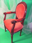 ADORABLE-ANTIQUE-TODDLER CHAIR-CAN BE USED FOR DOLLS AND TEDDY-BEARS-WELL MADE-
