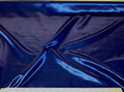 Discount Fabric Satin Navy Blue 65 inches wide SA89
