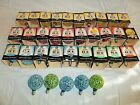 VINTAGE CHRISTMAS 34 GE LIGHTED ICE SNOWBALL FROSTED BULB LIGHTS C7 ALL WORK BOX