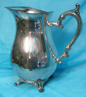 Vintage William Rogers Silverplate Footed Pitcher