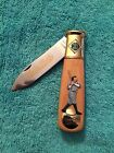 Franklin Mint NOS Babe Ruth Collector Folding Knife