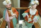 sultan and sultana old paris porcelain perfume bottle     style of jacob petit