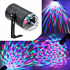 3W RGB Rainbow colors LED Crystal Magic Ball Mini Disco DJ Laser Stage Light