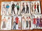 New Look Vintage 8 Patterns UNCUT FF 1980s-90s Style Pants Jackets Skirts Blouse