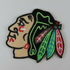 NHL CHICAGO BLACKHAWKS LOGO EMBROIDERED IRON ON PATCH T-SHIRT JACKET JEAN CAP