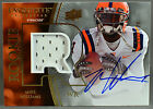 10 UD Exquisite Collection Mike Williams RC ROOKIE PATCH AUTO #47 120 2010 BUCS