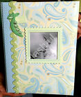 CR Gibson Anna Griffin Green Blue Jack Baby Boy Memory Keepsake Book FREE GIFT