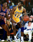 James Worthy Signed Los Angeles Lakers 11x14 Photo JSA G48613