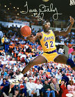 James Worthy Signed Los Angeles Lakers 11x14 Photo JSA G48614