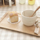 Natural Simple wood tray wood serving tray wooden serving tray platter tea tray