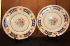 Two Grindley England Creampetal Dinner Plates