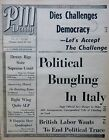 3-1944 WWII March 30 ITALY CHURCHILL NAPLES UKRAINE - BERNSTEIN ROGERS PM Daily