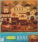 NEW Charles Wysocki Americana 1000 Piece Puzzle - Old Main Street - 2000 Release