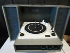 Zenith Solid State Stereophonic Record Player w Speakers Vintage Retro Rare