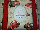 CARS Personalized Fabric Photo Album / Scrapbook  NO LACE