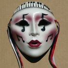 Collectible Ceramic MASK from CLAY ART  - Jazz Fantasy #0025 - 1988