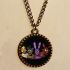 5 Five Nights at Freddy's Necklace FREDDY FAZBEAR Antique Pendant freeshipping