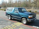 Ford  Bronco XLT Sport Utility 2 Door 1994 ford bronco xlt 58 l one owner lower miles no reserve