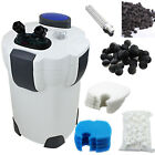 200 Gallon Aquarium Canister Filter UV 9w UV Sterilizer Fish Tank SUNSUN HW 304B