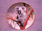 WS George Nature's Lovables THE KOALA Plate #1 - By Charles Frace
