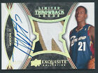 J.J. Hickson 2008-09 EXQUISITE LIMITED THROWBACK LOGOS 3CLR RC PATCH AUTO 06 25!