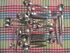 27 Piece Vintage Airline Flatware Spoons Fork Knife Mixed Carriers