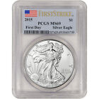 2015 American Silver Eagle PCGS MS69 First Strike First Day