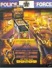 1989 WILLIAMS POLICE FORCE PINBALL FLYER MINT