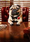 Mobster Dog Funny Pug Fathers Day Card Greeting Card by Avanti Press