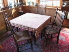 Stickley Dining room chairs Six Colonial Early American Style William and Mary