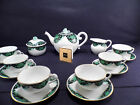 HEREND BRAND NEW,FIRST EDITION,PIVOINE IMPERIAL MOUCHOIR TEA SERVICE