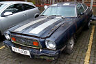 1976 FORD MUSTANG 11 BARN FIND 10 YEARS STORED RESTORATION PROJECT PRIVATE PLATE