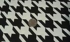 Fabric Houndstooth large print by Brothers & Sister Studio Design 5 7/8 yards