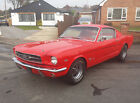 1965 Ford Mustang Fastback V8 Original Spec P X Welcome