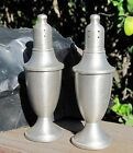Vintage WEB Pair 2 Large Weighted Salt  Pepper Shaker Set