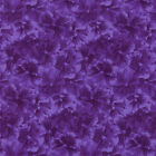 RJR Fabrics Debbie Beaves Lovely 1450 03 Purple Pansy Tonal By the Yard