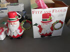 2003 Fitz and Floyd 2063/39 Snack Therapy Santa Cocoa Pot