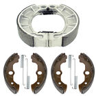 Front & Rear Brake Shoes for Honda TRX450S TRX450FM Fourtrax Foreman 4X4 98-04