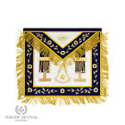 Handmade Masonic Past Master Apron by Edgar Creations