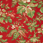RJR Fabrics Robyn Pandolph Incarnadine 1994 02 Holly on Red Yardage