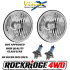 Vision X 7 SEALED REPLACEMENT HEADLIGHTS PAIR HALOGEN JEEP WRANGLER TJ CJ 4X4