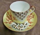 Lovely Antique Aesthetic Lg. Porcelain Cup & Saucer / Bowl Plate Marked Bodley