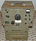 Czech R4-1 HF Vacuum Tube Military Receiver W/ ZS4 Power Unit  & Spare Parts Kit