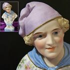 Antique Meyer Fels Italy BISQUE DOLL BUST of a HANDSOME ADOLESCENT BOY German