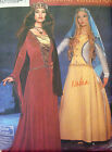 Simplicity 9758 MEDIEVAL PRINCESS QUEEN GOWNS CAPE sz 14-20 Sewing Pattern