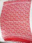 red feather boho sarong beach resort wear cheap summer clothing accessories
